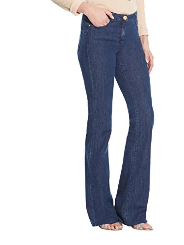 Balsamik - Jeans flare push-up, statura media - Donna - Size : 46 - Colour : Blu scuro