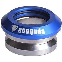 "completo integrado anaquda headset 1 1/8"" scooter Stunt Control de azul"