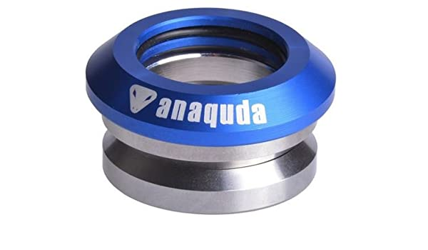 "Anaquda full integrated Headset  Stunt-Scooter Steuersatz Kugellager 1 1//8/"" Blau"