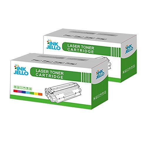 inkjello Kompatibler Toner Ersatz für Dell 17001700N 17101710N Lexmark E230232330332234240340342IBM Infoprint 14121412N 15121512N (schwarz, 2er Pack) - Ibm Lexmark Ersatz