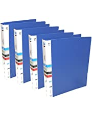 SNDIA 2D A4 Size Ring Binder Box File (4 Pack)