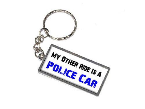 Preisvergleich Produktbild My Other Is A Ride Auto Polizei Auto-Schlüsselanhänger-NEU