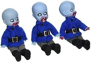 Uno: 12 muñecas colectivas 94518 Living Dead OZ® Mini Munchkins (Pack de 3)