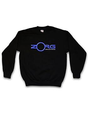 Zorg Sweatshirt – El Quinto Logo Elemento Company Sign The Fifth Element 5. 5th Emanuel Sci Fi Science Fiction...