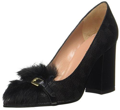 Pollini w.shoe, scarpe con tacco donna, nero, 39 eu