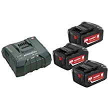 Metabo 685061000 18 V 5.2 Ah Batteries and ASC Ultra-Fast Charger