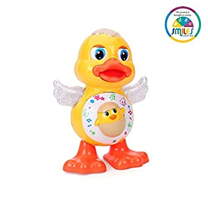 Smiles Creation™ Happy Dancing Duck Toy for Kids, Multi Color