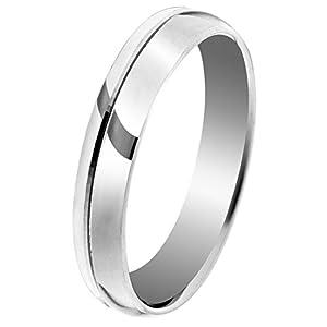 Orphelia Unisex -Trauringe 925_Sterling_Silber '- Ringgröße 52 (16.6) OR9996/3/A1/52