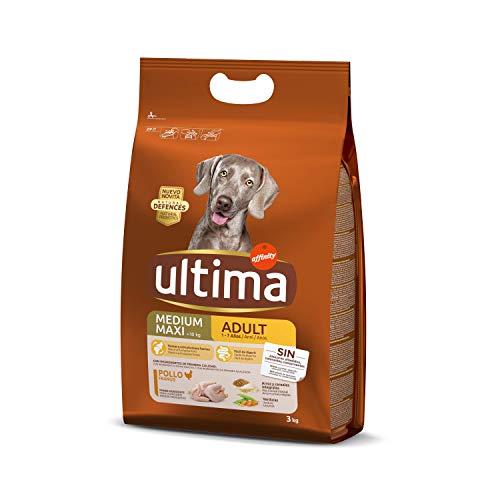 Ultima Cibo per Cani Medium Maxi Adulti con Pollo - 3 kg