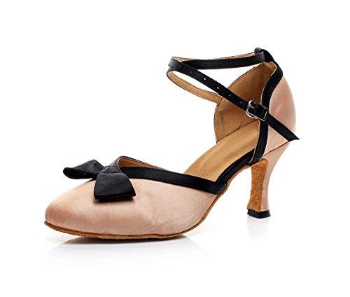 Minitoo ,  Damen Tanzschuhe Nude-7.5cm Heel
