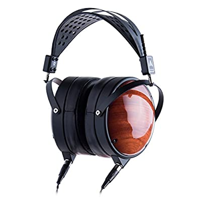 Audeze LCD-XC Over Ear Closed Back Headphone, Maple wood with New Suspension Headband and rugged travel case