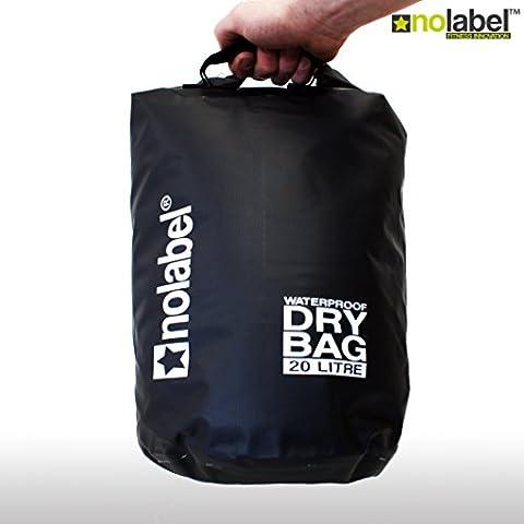 20 Litre Waterproof dry bag- 500D Tarpaulin - Lightweight Compact