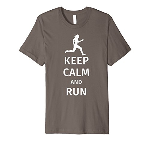 Keep Calm and Run / Funny Runner T-Shirt Gift