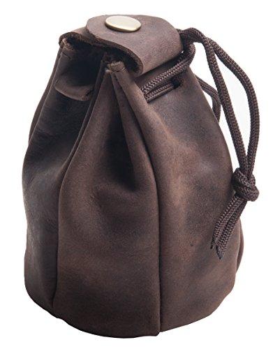 Sac en cuir, sac de tabac, sac de tabac, sac à bijoux, sac à pièces, sac à main, sac à monnaie, sac à main en cuir véritable
