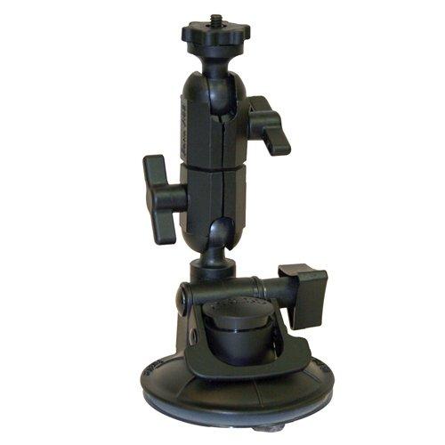 Panavise ActionGrip Kamera-Halterungsset, mit Saugnapf, Mattschwarz, Double Knuckle, Matte Black Panavise Mount