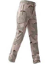 b9fc803d9f9ecd CLOOM Uomo Casuale Tattico Esercito Militare Combattimento all'aperto  Pantaloni da Lavoro Pantaloni Cargo Laterali