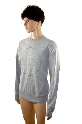 Bench Herren Men Pullover Shirt langarm grau oder blau *** PAYOFF *** BMED0047 Grau