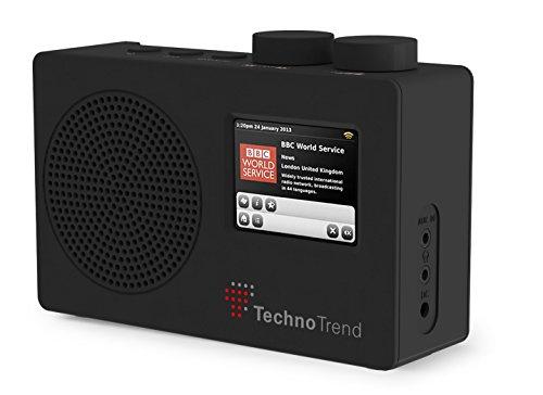 TechnoTrend - Portables DAB/DAB+/UKW Radio mit Farbdisplay