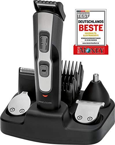 ProfiCare BHT 3014 - Set de Cortapelo con Afeitadora Barba, Recortador de Precisión y Cortador Oído...