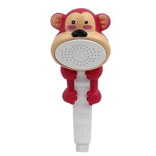 re Hand Duschkopf Bad Schöne Mode Spielzeug Wand Montiert Kinder Spielen Wasser Spray,Monkey ()