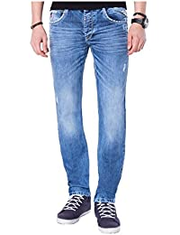Replay Herren Regular Slim Leg Jeans Waitom