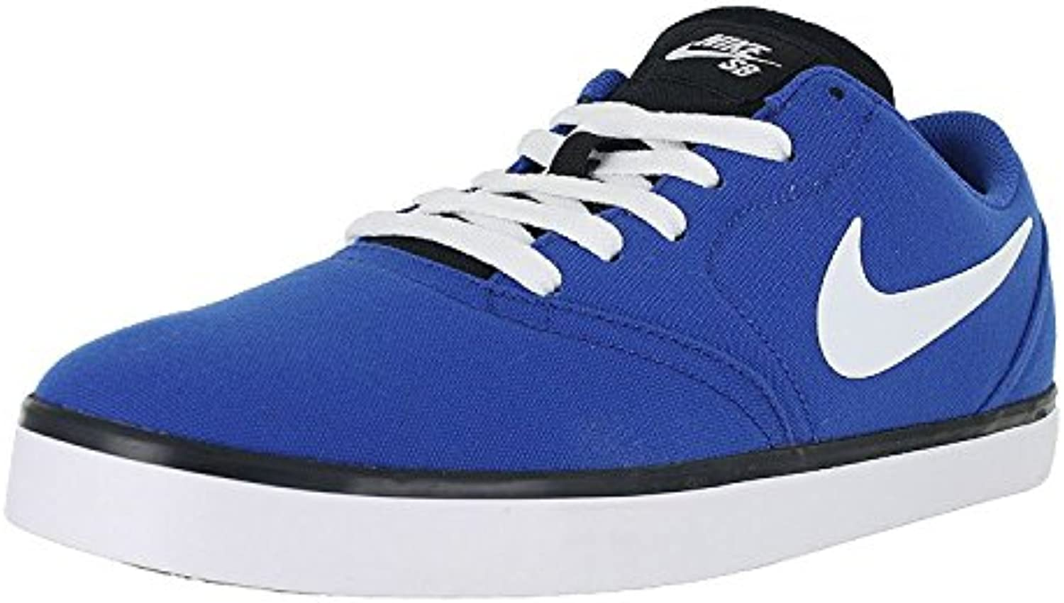Nike Men's SB Check Cnvs Skateboarding Shoes, Juego azul/blanco/negro, 44 D(M) EU/9 D(M) UK