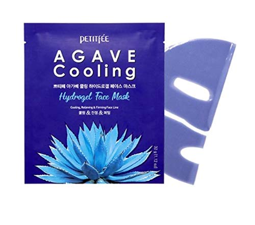 [Petitfee] Agave Cooling Hydrogel Face Mask 5ea -