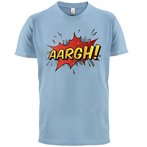 Superheld Aargh - Herren T-Shirt - 13 Farben Himmelblau