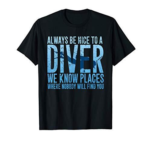 Scubaholic Womens Funny Scuba Diving T-Shirt Dive Sea Equipment Gear Flipper