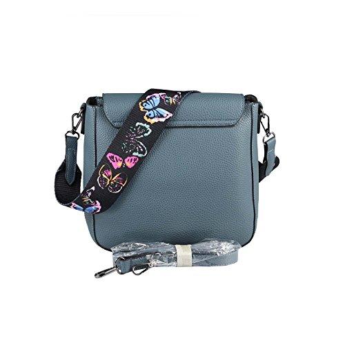 OBC Only-Beautiful-Couture, Borsa a spalla donna blu Blau ca.: 29x25x9 cm (BxHxT) Blau