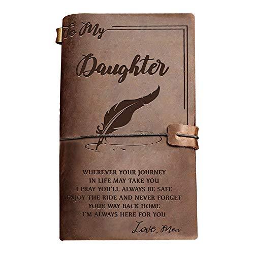 Jahrgang Pu Leder Notebook, Schule schreiben Tagebuch Skizzenbuch Business Journal, Retro Blank String Daily Notepad, klassische geprägt, geeignet zum Schreiben von Tagebüchern, Zeichnen (Notebook Schreiben Schule)