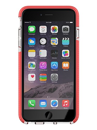 Tech21Evo Mesh Sport für iPhone 6Plus, transparent/Pink (21 6 Mesh Evo Tech Plus)