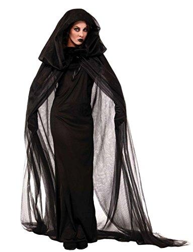 NonEcho LaLaAreal Kostüm Hexe Frau Halloween Vampiresa Novia Cadaver Cosplay