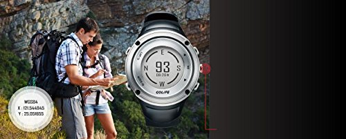 GOLiFE neutral-round outdoor GPS Smart sports watch GOWatch X-PRO