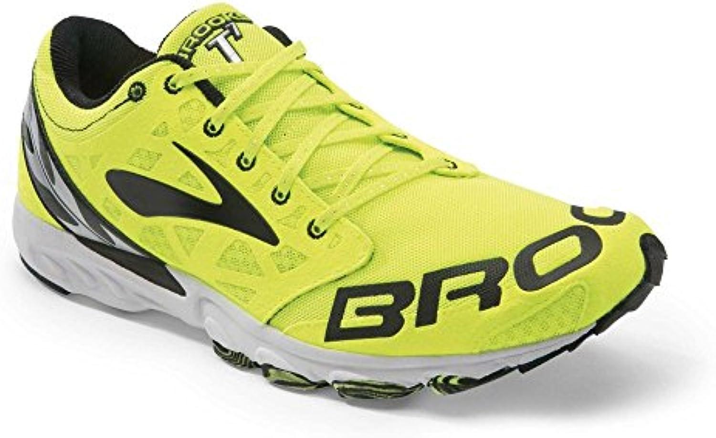 Brooks T7 Racer D Nightlife, color negro