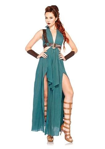 Leg Avenue Costume 4-Pièces Innocente Guerrière Vert Large