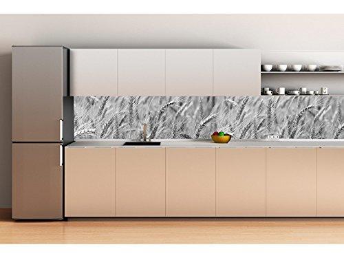 Decoración Pared Cocina Panelado aluminio 180x70cm