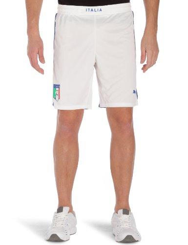PUMA Herren Fußballshorts Italia Home & Away, white, M, 740362 02 - Nationalmannschaft Trikot Italienische