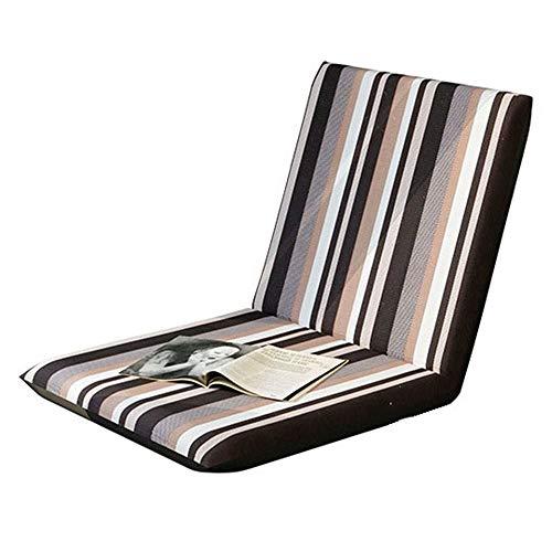 Weentop Verstellbarer Stuhl mit Rückenlehne Kreative Moderne minimalistische Büro Computer Hocker Stuhl Erwachsene Sofa Bank multifunktionale Schlafzimmer (Farbe : Mehrfarbig, Größe : 40 * 80 * 6cm) -