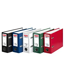 Herlitz max.file Protect A5 , 8cm Oblong Lever Arch File - Assorted Colours
