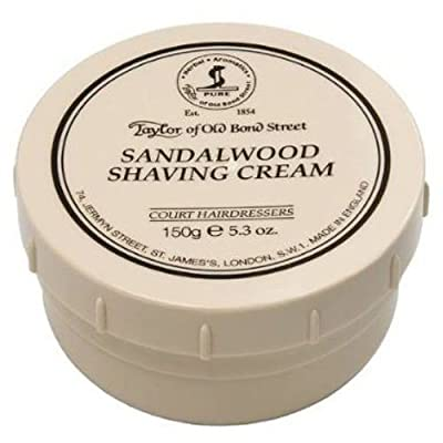 Taylor of Old Bond Street Sandalwood Shaving Cream Bowl by Taylor of Old Bond Street