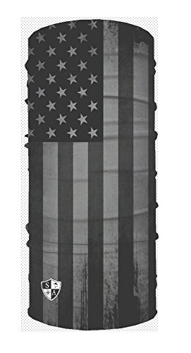 SA Face Shield Multi Function Mask Scarf Bandana Blackout American Flag - THE ORIGINAL -