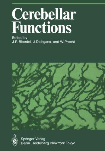 Cerebellar Functions (Proceedings in Life Sciences)