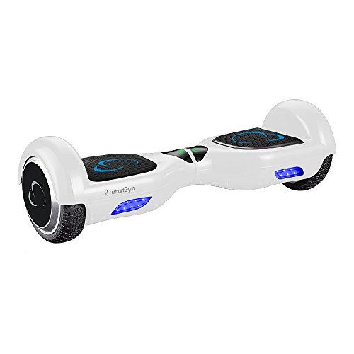 SmartGyro X2 UL v.3.0 White - Potente Patinete Eléctrico, Ruedas de 6.5