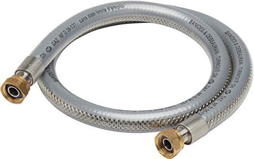 Flexible tubinox gaz naturel longueur 1,50m réf 38815