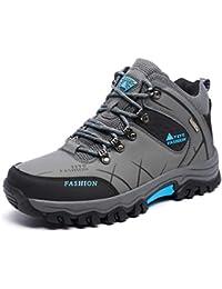 huge discount 768d5 69781 Botas para Hombres Zapatos Antideslizantes para El Invierno Hombres Botas  De Invierno De Felpa CáLida Zapatos