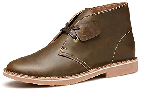 Fangsto Chukka Boots, Desert boots garçon homme - multicolore - marron, 40