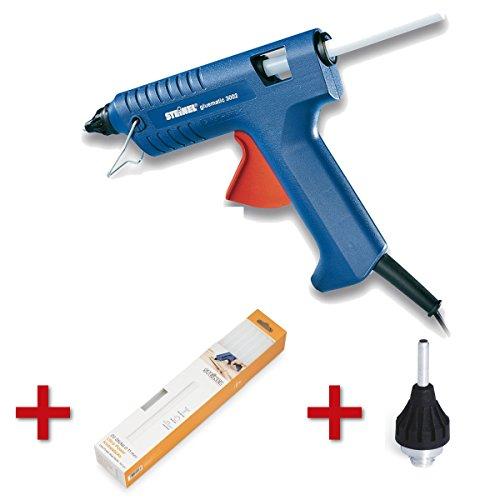 Preisvergleich Produktbild Steinel Heißklebepistole Gluematic 3002 + Langdüse und Klebesticks