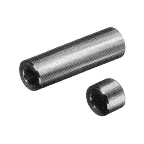 Thomafluid Distanzhülse aus Messing, d: 3,2 mm, D: 4 mm, L: 12 mm, 25 Stück
