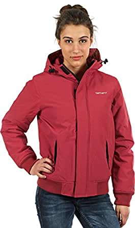carhartt kodiak winterjacke damen jacke rot xs bekleidung. Black Bedroom Furniture Sets. Home Design Ideas